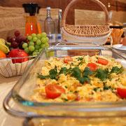 Frühstücksbuffet | Pension Hofgeflüster