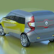 Renault Frendzy Heckansicht  Foto: Renault