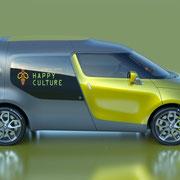 Renault Frendzy Seitenansicht  Foto: Renault