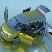 Renault Frendzy Türen  Foto: Renault