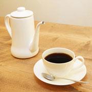 おいしいコーヒーの出来上がりです。