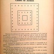"""En el libro """"Aritmética (Segundo Grado)"""" del año 1922, de Juan Palau Vega, aparece un cuadro de sumar de Jackson para la escuela con la explicación de su uso (curiosamente es el mismo cuadro que el el mismo cuadro que el del libro de Eduardo Benot)"""