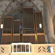 Église municipale de Bienne: installation du système de commande du nouvel orgue