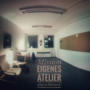 Eigenes Atelier in Potsdam