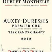 """Auxey-Duresses Premier Cru """"Les Grands-Champs"""""""