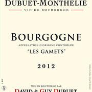 """Bourgogne """"Les Gamets"""""""