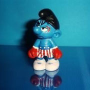 Schtroumpf custom Rocky Balboa