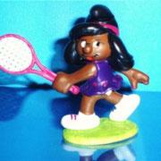 Schtroumpfette custom tennis
