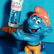 Schtroumpfs custom eau