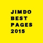 Jimdo Best Pages2015 ノミネート