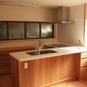 居心地の良い空間にあるキッチン