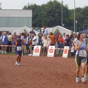 Mein 1. Wettkampf beim Ruhrauenlauf am 28.08.2004 / 5 KM in 33:33 Minuten