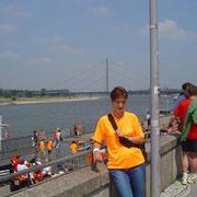 Der Düsseldorfer Brückenlauf ist bei uns Tradition