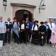 Treffpunkt am 20.Sept an der Kirche Heinrichsort.