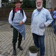 Bauer (Ernst Kunze) und Wasserträger (Manfred Paufler)