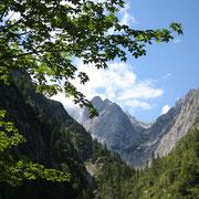 Höllental mit Zugspitze