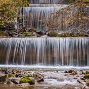 Die Wasserfalltreppe des Gaisalpbaches
