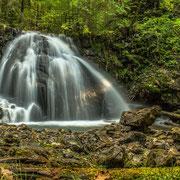 Gaisalpbach und einer seiner schönsten Wasserfälle, in der nähe von Reichenbach 1