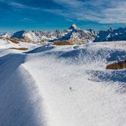 Nebelhorn - Oberstdorf Blickrichtung Hochvogel mit 2592m