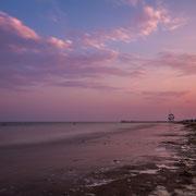 Ein Abend am Strand von Jesolo
