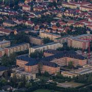 Das Saalfelder Krankenhaus in Thüringen