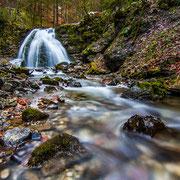 Gaisalpbach - Wasserfall am Fuß des Rubihorns