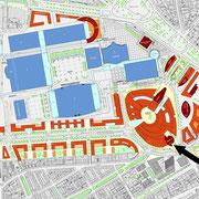Masterplan des Frankfurter Europaviertels