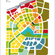 Masterplan aspern Seestadt | copyright: Tovatt Architects & Planners AB / Wien 3420 AG