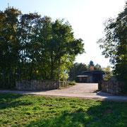 Reitanlage Römerhof - Einfahrt