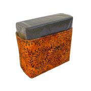 Serviettenbox Muster Orange – zu verkaufen