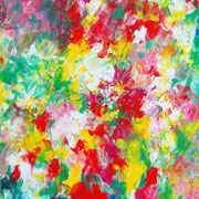 heiter - 2009 - Acryl & Öl auf Leinwand - 70 x 50 cm
