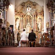 Hochzeit Kirche Franken
