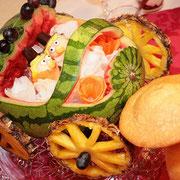 Hochzeit Thüringen Essen Buffet