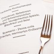 Menü Hochzeit Erlangen
