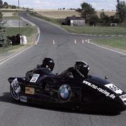 Motorrad Rennen Seitenwagen WM Schleizer Dreieck