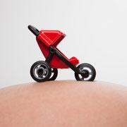 Babybauch Kinderwagen