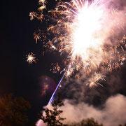 Hochzeit Thüringen Feuerwerk