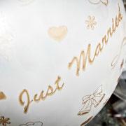 Hochzeit Franken Ballon