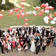 Hochzeit Thüringen Gruppenbild