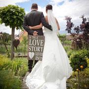 Brautpaar Hochzeit Franken
