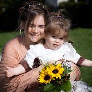Hochzeit München Braut mit Kind