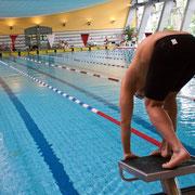 Schwimmer Startblock Erfurt