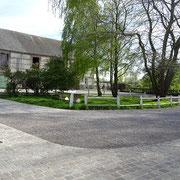Espace convivialité Ferme relais de la Baie de somme-hébergement-gîte de groupe-centre équestre chevaux Henson-mer-campagne-le Crotoy-Saint Valéry sur Somme-balades cheval-