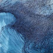 o.T., Tusche/Papier, 20 x 20 cm, 2018