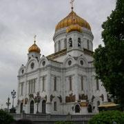 Neu erbaute Erlöser Kathedrale