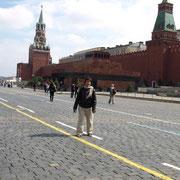 mit dem Lenin Mausoleum
