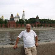 ein erster Blick über die Kremlmauer