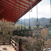 拝殿からの眺望