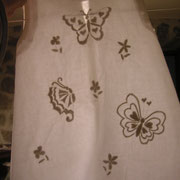 Robe boutis papillons pour cérémonie