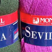 Sommerlicher Wollmix (30% Wolle, 70% Acryl) Dünner Faden. Maschinenwaschbar bei 40°C